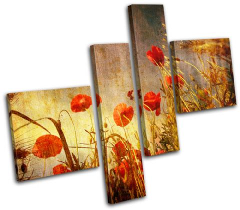 Poppies Flowers Floral - 13-0754(00B)-MP02-LO